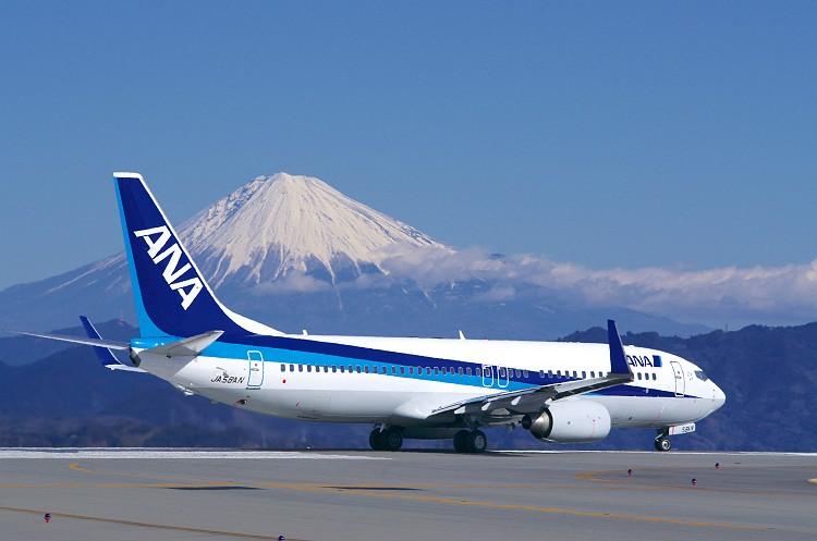 富士山静岡空港にて