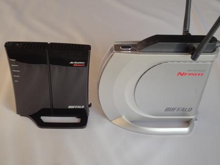 無線LAN親機 新旧比較