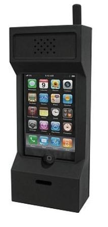 昔の携帯電話 iphoneケース