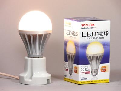 LED電球60W東芝ライテック「E-CORE 一般電球形6.4W LDA6L」