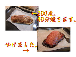 お肉は500gほど