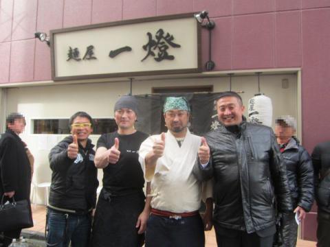 『麺屋 一燈』×『麺や 而今』コラボイベント ~牛白湯煮干しつけ麺~-1