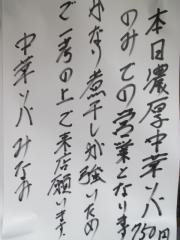 濃厚中華ソバ みなみ【九】-10