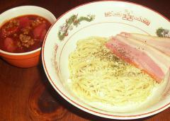 海老×蟹合戦ボロネーゼ 燻製ペペロンチーノ麺