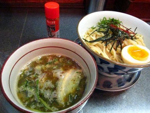 絡二神(魚濃いつけ麺)