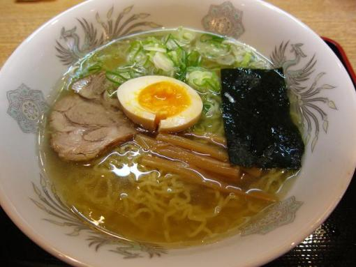 麺座(塩ラーメン)
