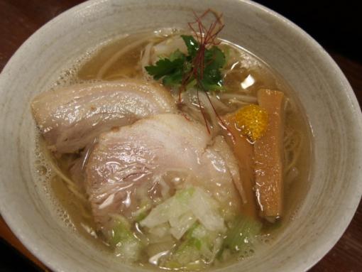ヒゲイヌ(煮干塩ラーメン)