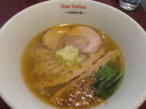 黄金の塩らぁ麺 Due Italian(黄金の塩らぁ麺)