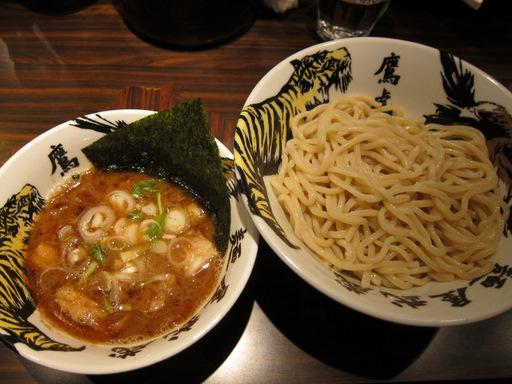 麺屋武蔵 鷹虎(つけ麺・普通)