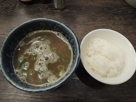 〆ごはん(50円)とスープ割り