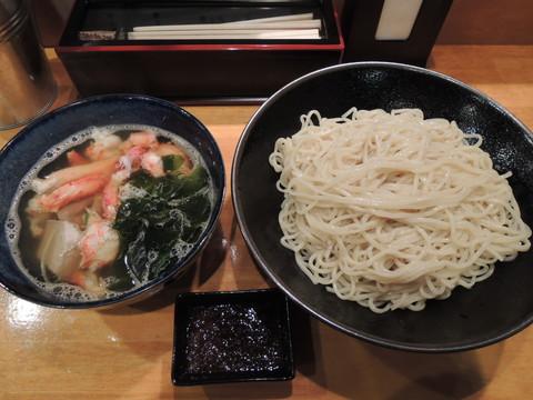 タラバ蟹塩つけ麺(400g)(1100円)