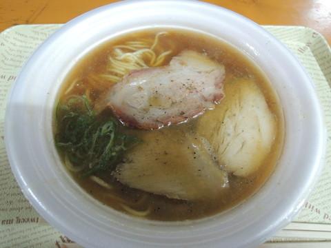 三つ巴焼豚麺(800円)
