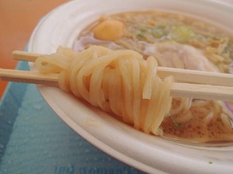 山形 鶏中華の麺