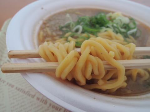 札幌味噌ラーメンの麺