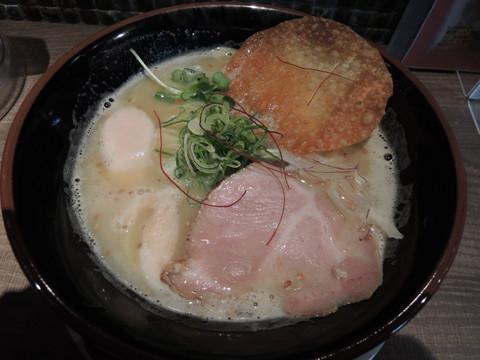 地鶏中濃ラーメン(730円)