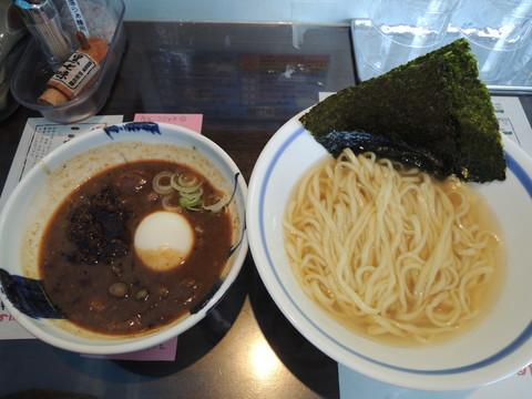 松阪牛骨・スジ・しぐれ煮つけらぁ麺(特製)(1200円)