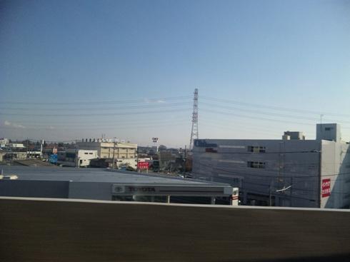 新白河駅付近