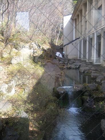 蔵王国際ホテル 硫黄のにおう滝