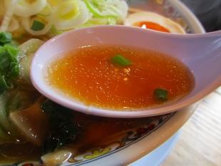 こうめい長潟 ラーメン葱増 スープ