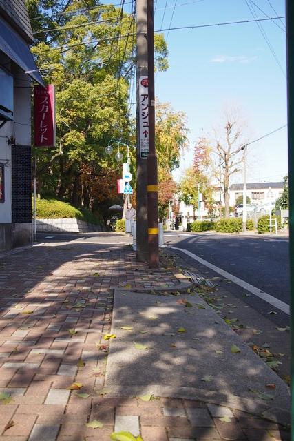 cafe de cornu駐車場001