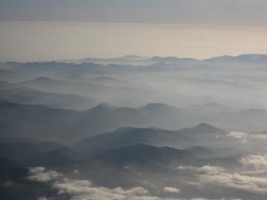 綺麗な山並み♪