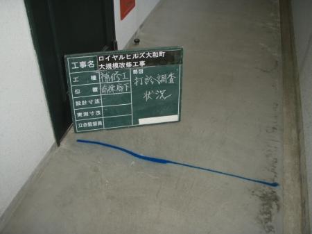 廊下床調査02