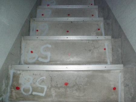 ④施工前 階段踏面