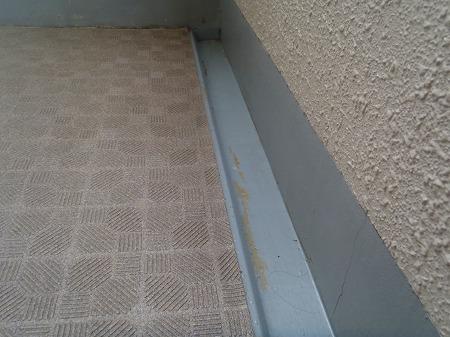 05 開放廊下排水溝の防水機能低下