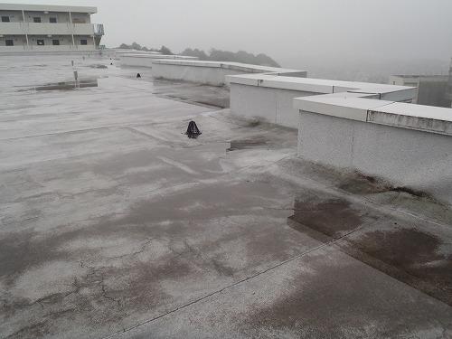 01 屋上改質アスファルト防水層
