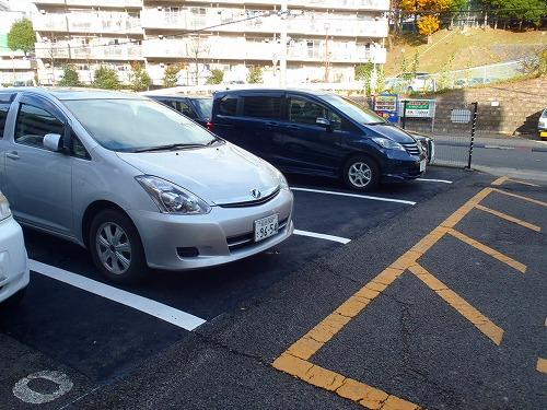 16 駐車場陥没 施工完了(オーバーレイ工法)