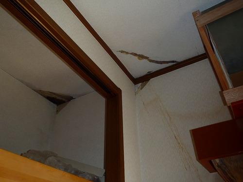 02 居室天井からの漏水02