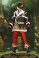 ブラッククリスマスサンタクロースハンターセット