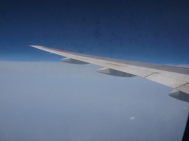 帰り機内3