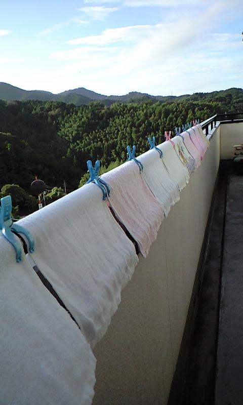2010-10-3-洗濯物干し (1)