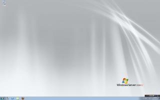 Windows Server 2008 R2 デスクトップ