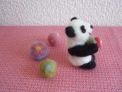 パンダ横向き