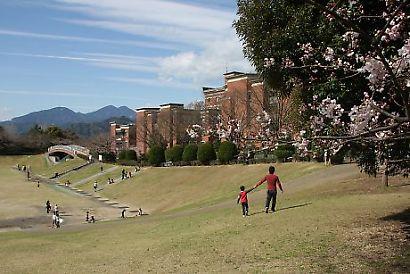 静岡県立大学芝生公園-1