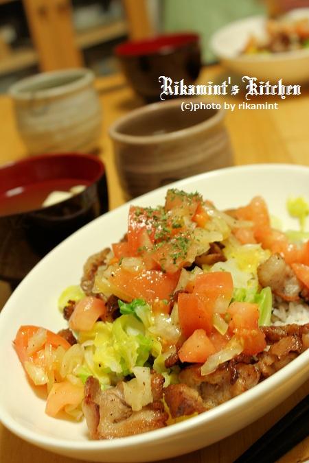 IMG_2・12カリカリ豚トマ丼 (4)