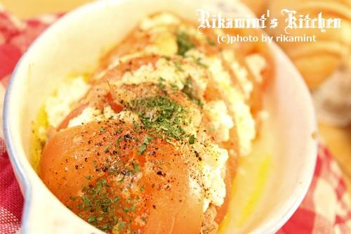 IMG_2・25トマトのカッテージチーズ焼き (5)