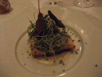 鱈のテリーヌ バーニャカウダー風味
