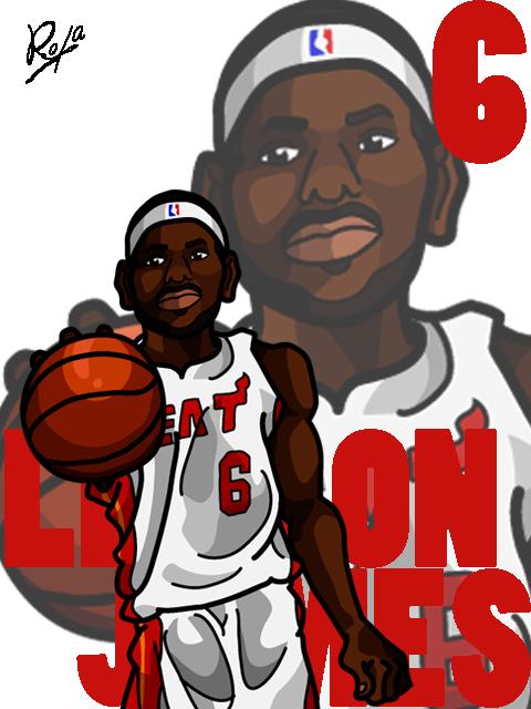 LeBron James #2