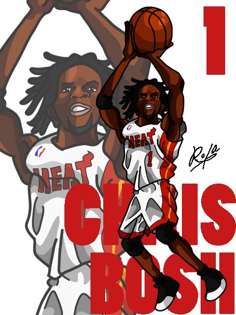 Chris Bosh #2