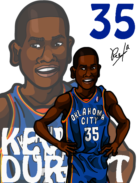 Kevin Durant #2