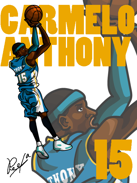 Carmelo Anthony #3