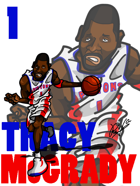 Tracy Mcgrady #2