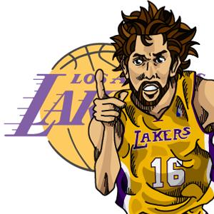 Gasol Lakers Logo