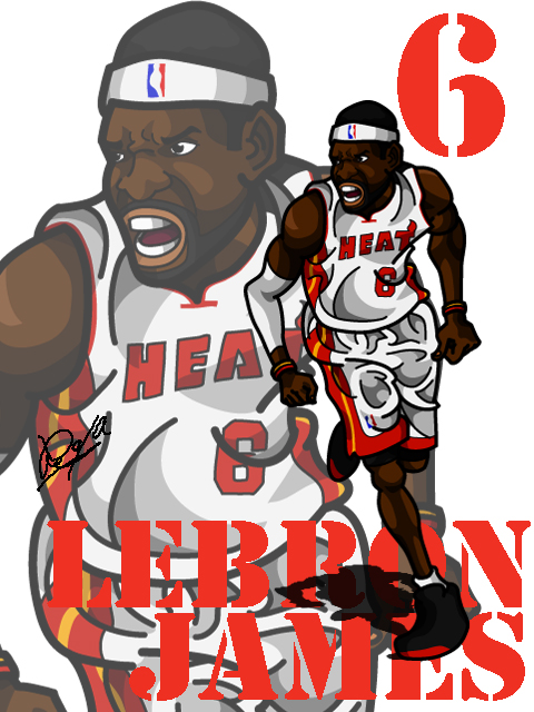 LeBron James #4
