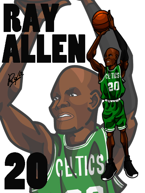 Ray Allen #1 Home