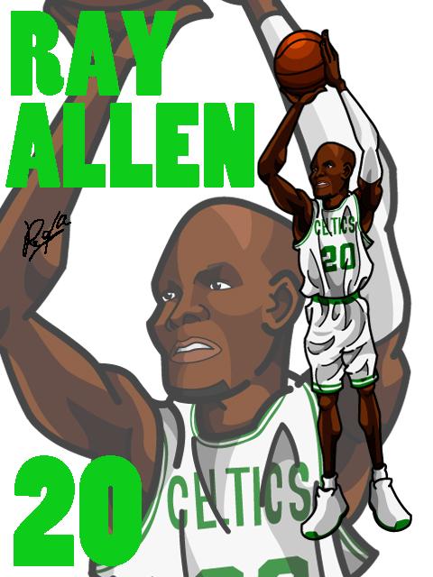 Ray Allen #1 Away