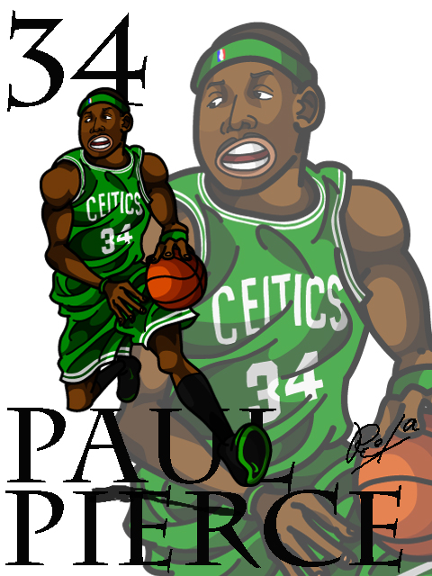 Paul Pierce #2 Away